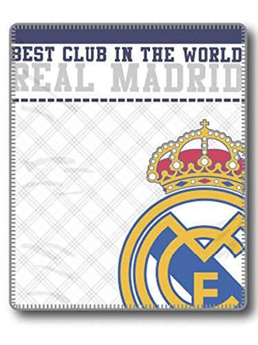 Manta Real Madrid Marca Tejidos Reina
