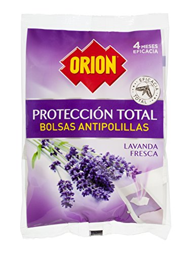 Orion Bolsas Antipolillas, Lavanda, Pack de 20 Unidades