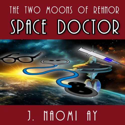 Space Doctor audiobook cover art