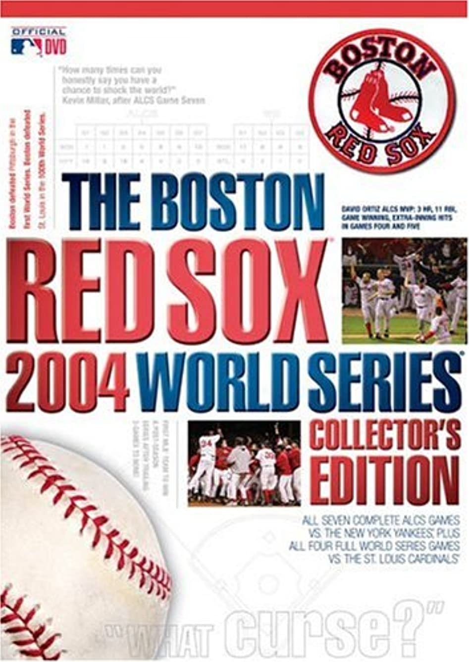 国民投票アリーナ最後のBoston Red Sox 2004 World Series [DVD] [Import]