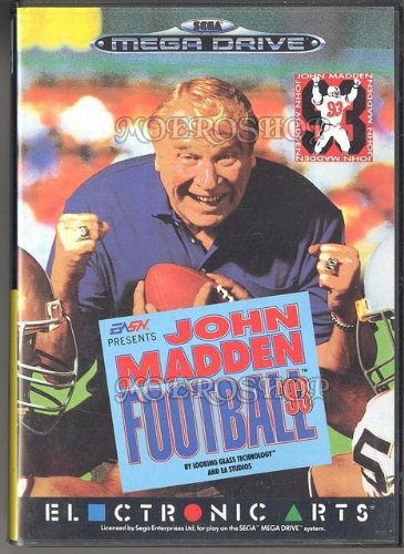 John Madden football 93 - Megadrive - PAL [Sega Megadrive].