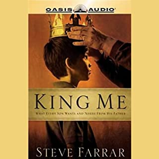 King Me audiobook cover art