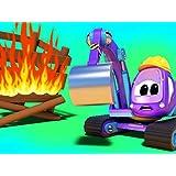 花見大会で大炎上!?/ベイビースパイダーマンと消防車/スーパー電車とレーザーストーム/空飛ぶパンケーキ