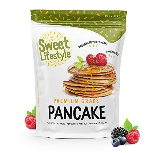 Originale preparato per Pancake completo | 1 KG | |100% Made in Italy | Sweet Lifestyle| Pancake mix | Facile e veloce da preparare | Qualità Premium | Alta qualità