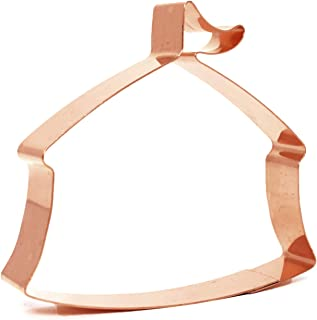Under The Big Top Circus Tent Copper Cookie Cutter