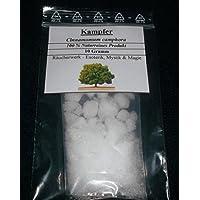 Alcanfor, 10 g (100% natural), incienso para magia, esoterismo y misticismo