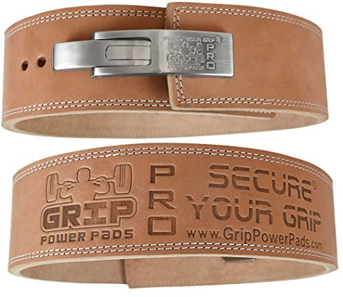 Grip power pads genuine leather belt image