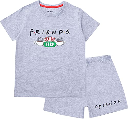 Friends Girls Short Pyjamas, Cotton Pyjamas For Teenage Girls, Ages 8 to 15...
