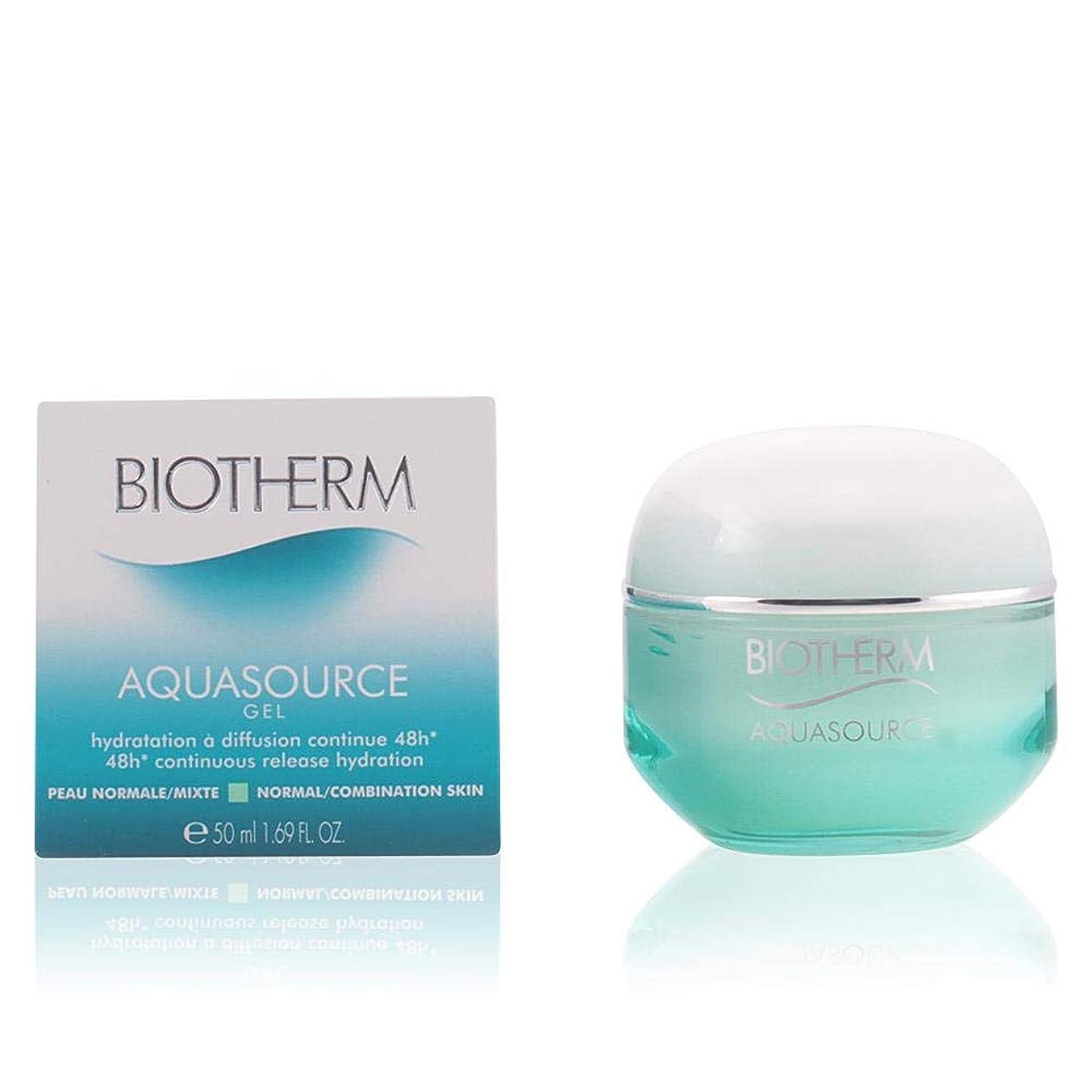 歌詞ロゴタールビオテルム Aquasource 48H Continuous Release Hydration Gel - Normal/Combination Skin (Pump) 125ml/4.22oz並行輸入品