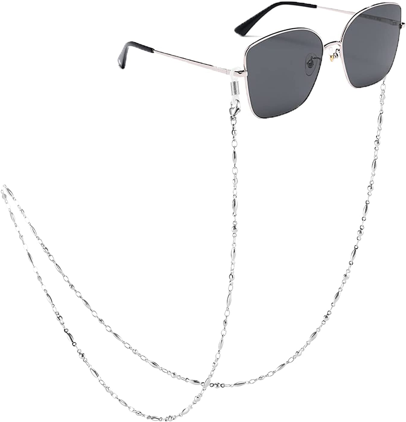 TONY SANDY Eyeglass Chain Al sold out. Necklace Holder 2021 spring and summer new Strap Sunglasses Cor