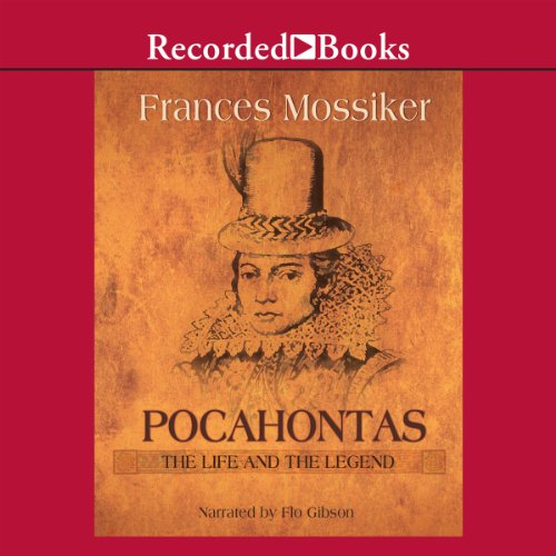 Pocahontas audiobook cover art