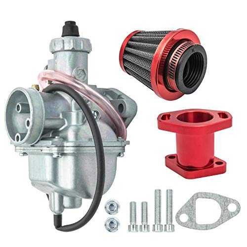 Carburetor with Air Filter and Manifold Compatible with GX200 196cc Predator 212cc Mini Bike Go Kart Motorcycles