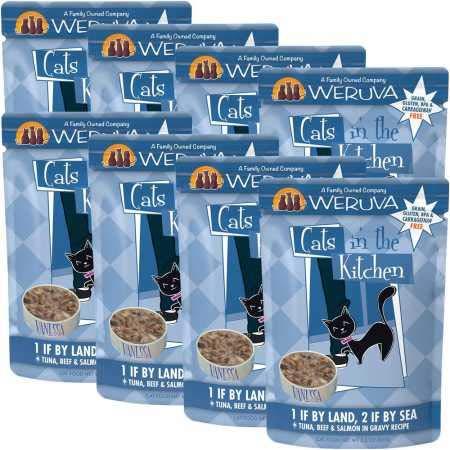 Weruva Gatos en la Cocina sin Grano húmedo Cat latas de Alimentos y Bolsas