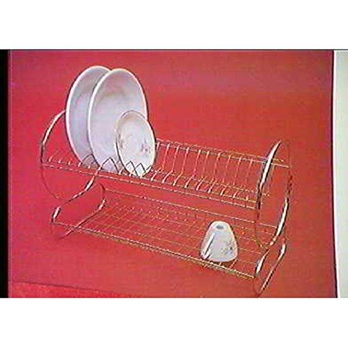 Filtex 2499080 Égouttoir à vaisselle, acier inoxydable, gris
