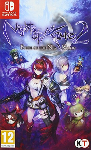 Nights of Azure 2: Bride of the New Moon - Nintendo Switch - Nintendo Switch [Importación francesa]