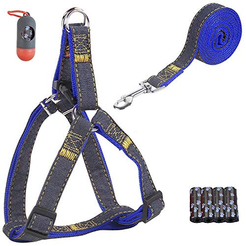 Daisx Dog Harness-Adjustable Dog Vest-More Comfortable-The Adjustable-Easy Walking Control for Small, Medium, Large Dogs