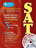 SAT w/ CD-ROM (REA) - The Very Best Coaching & Study Course (SAT PSAT ACT (College Admission) Prep)