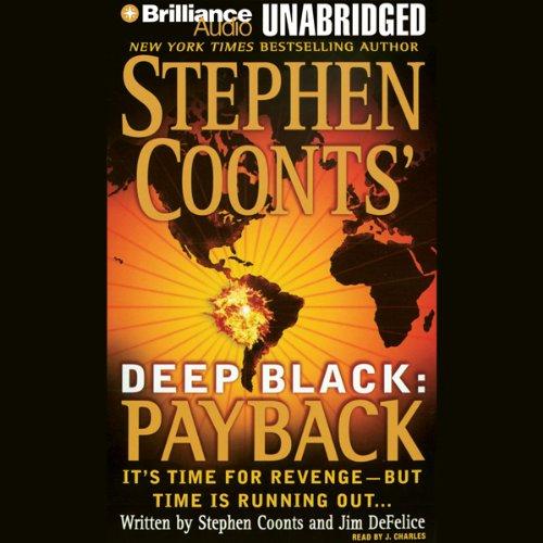 Deep Black: Payback audiobook cover art