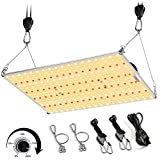 Mieemclux C1000 LED Grow Light with Wide Light Footprint 4x3ft and Upgraded Larger Board,...