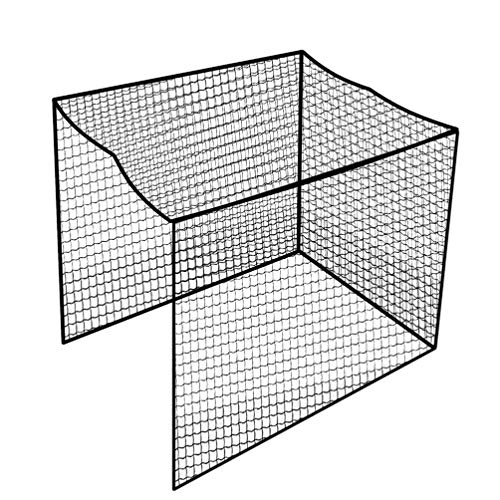 Aoneky - Red para jaula de golf (83.3 x 83.3 x 9.8ft)