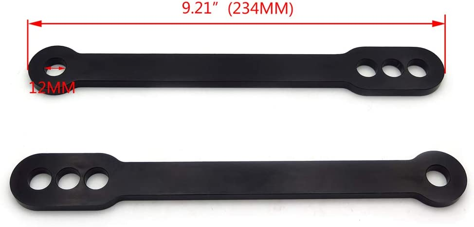 HTTMT Cheap Financial sales sale super special price MT013-BK Bike Black Lowering Compatible with Kawasak Links