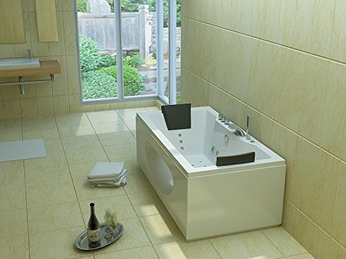 Luxus Whirlpool Badewanne 180×90 in Vollausstattung (Massage) – Sonderaktion - 4