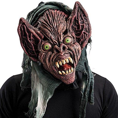 Masque Monstre Chauve Souris Halloween - Accessoire Deguisement - 650