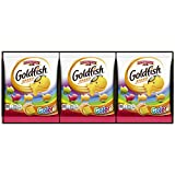 Pepperidge Farm Goldfish Colors Cheddar Crackers, 0.9 Ounce Snack Packs, 9 Count
