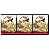 Pepperidge Farm Goldfish Colors Cheddar Crackers, 0.9 oz. Single-Serve Snack Packs, 9-count Multi-pack Tray