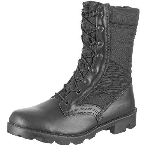 Mil-Tec - Botas para hombre, color negro, talla 42.5