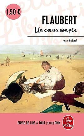 【法国法文版】福楼拜:淳朴的心 法文原版 Un coeur simple 经典文学书籍