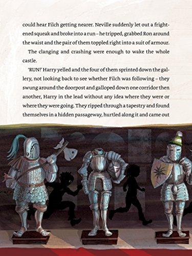 Imagem do shoveler em miniatura - 3 para Harry Potter and the Philosopher's Stone: Illustrated [Kindle in Motion] (Illustrated Harry Potter Book 1) (English Edition)