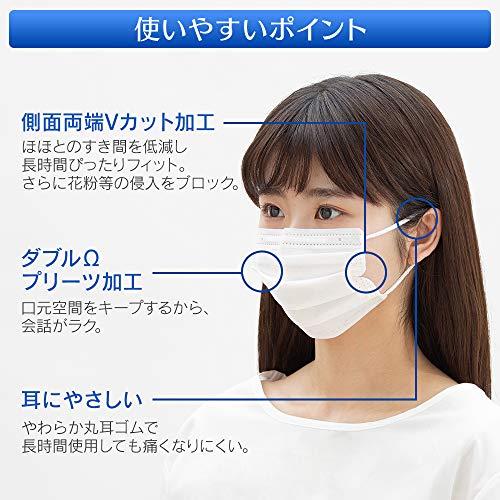 アイリスオーヤマやわらかマスクふつうサイズ30枚入PN-YW30M