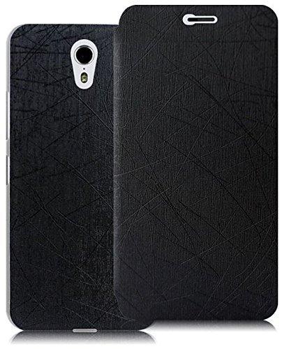 Prevoa ® 丨Lenovo ZUK Z1 Funda - Flip PU Funda Cover Case para Lenovo ZUK Z1 5.5 Pulgadas Android Smartphone - Negro