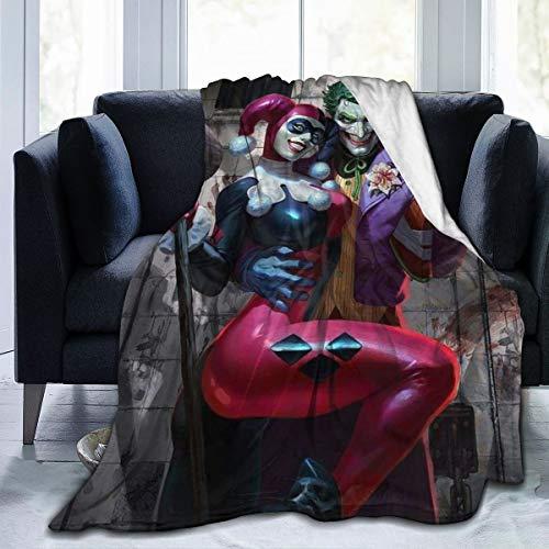513EBltkZjL Harley Quinn Blankets