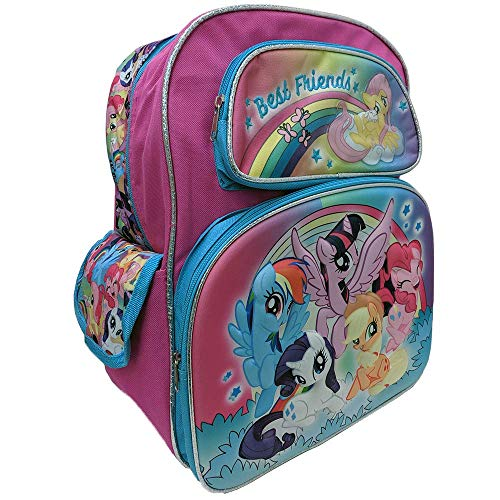 """Accessory Innovations My Little Pony Best Friends""""16"""" Backpack, Pink"""