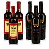 10€ / l Süße Weine aus Griechenland Imiglikos Nemea + Kourtaki Mavrodaphne [ 6 x 0,75 l ] (6x 0,75l Weinpaket Griechenland)