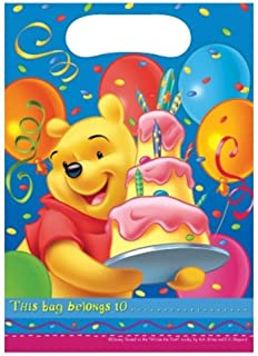 Procos Winnie The Pooh Party Bags, Blue