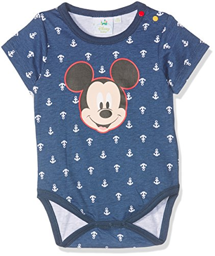Disney Baby-Jungen Formender Body 78342 Marron Foncé Bleu Jean, 1 Jahr (Herstellergröße: 12 Monate)