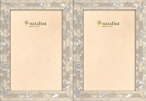 Natalini QHBianco Cornice Portafoto, Tulipier, 26 x 18 x 1.5 cm