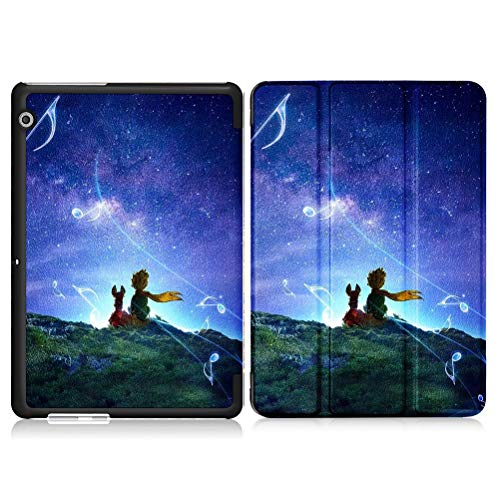 Yoedge Funda Tablet Huawei Mediapad M5 Lite/M5 8 Lite,Carcasa con Dibujos Animados Ultra Delgada Ligera Smart-Shell Soporte Case para Huawei M5 8 Lite 2019 Fundas Tablet 8,0 Pulgadas,Cielo Estrellado