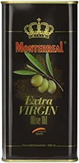 皇家蒙特垒 特级初榨橄榄油500ml铁听 西班牙原装进口食用油