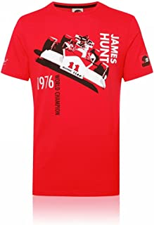Speedgear James Hunt M23 F1 Car Tee Shirt by Hunziker