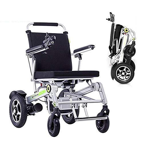 Y-L hanger-elektrische rolstoel, lichte handmatige elektrische intelligente afstandsbediening rolstoel-ouderen, ongeschikte schokken, vierwielige drager-scooter
