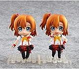 Mdcgok XFHJDM-WJ Poupée Anime Love Live School Idol Proyecto Kousaka Honoka Q Versión PVC Figuras Jouets 2 unids/set-0103