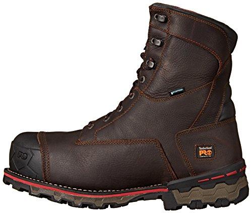Timberland PRO Men's 8″ Boondock Comp-Toe Waterproof Work Boot