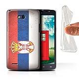 Stuff4, serie European Flag, cover o skin per smartphone LG-GC Sebia/Serbian LG L80/D380