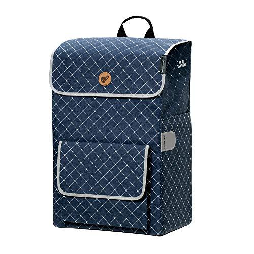 Andersen Shopper Tasche Tamo 51 Liter blau und mit integriertem Thermofach 16 Liter