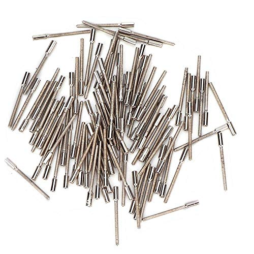 TMISHION Extensor de vástago del bobinado Barra de extensión del Reloj Extensor de Bobina Reparación Reparación del Reloj de Corona Rota o extendida Accesorios 0.7 mm