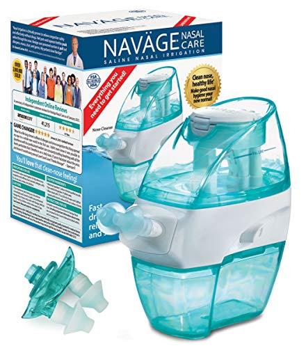 Naväge Nasal Irrigation Multi-User Bonus Pack: Navage Nose Cleaner &...